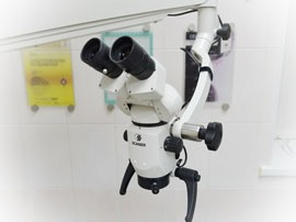 Лечение и реставрация зубов под микроскопом в Запорожье